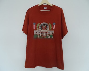 Vintage 1990s The White House t shirt United States of Amarica