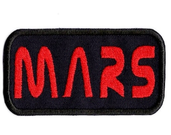 Mars patch space badge Iron on Patch