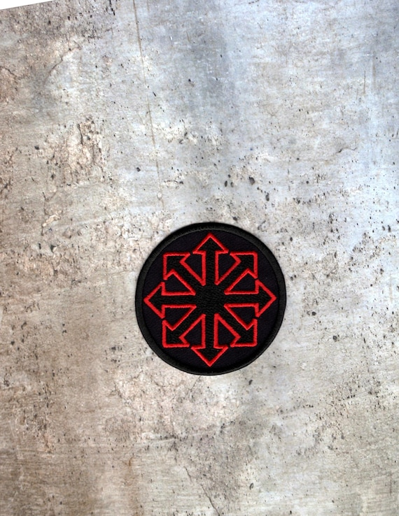 Symbol Of Chaos Red Patch Iron To Sew On Badge Etsy