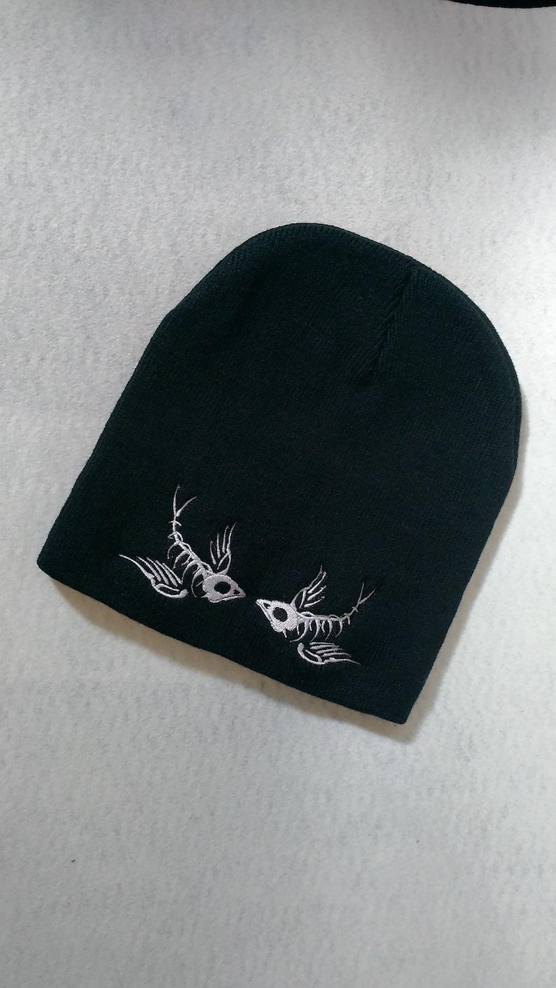 Bird skeleton beanie Winter Hat
