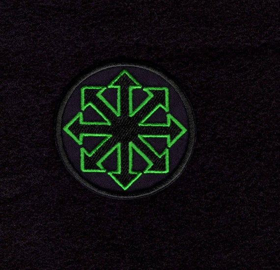 Symbol Of Chaos Green Patch Iron To Sew On Badge Etsy