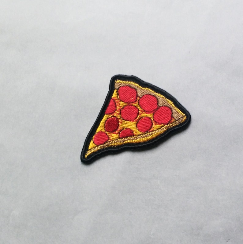 Slice of Pizza Patch Applique Iron on