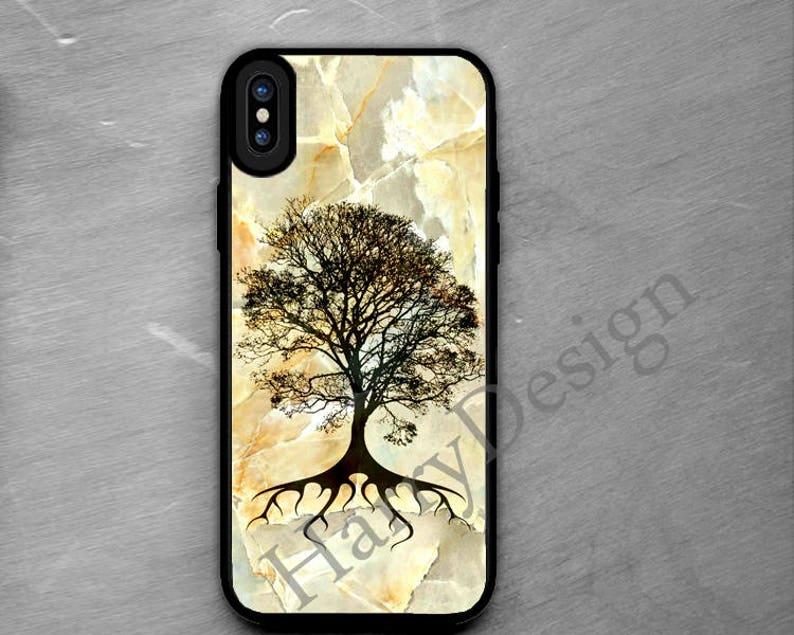 pretty nice b1f1f 2a1e7 iPhone Xs max case Marble Wish Tree iPhone X Xr case iPhone 8 7 6 plus case  Samsung Galaxy S9 S8 Plus Galaxy S7 S6 Edge Galaxy Note 9 8 case