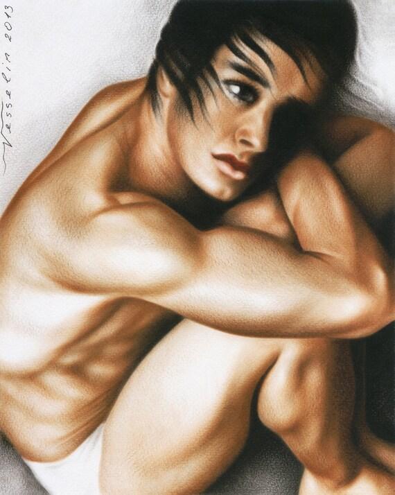naakt jonge mannelijke modellen