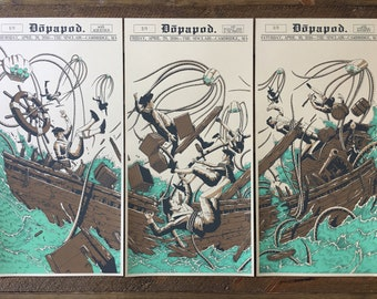 Dopapod Triptych Print Set