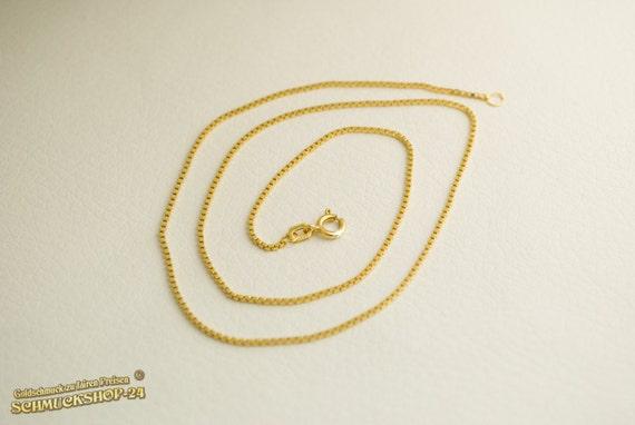 Cadena de oro 333 venezianerkette 45 cm