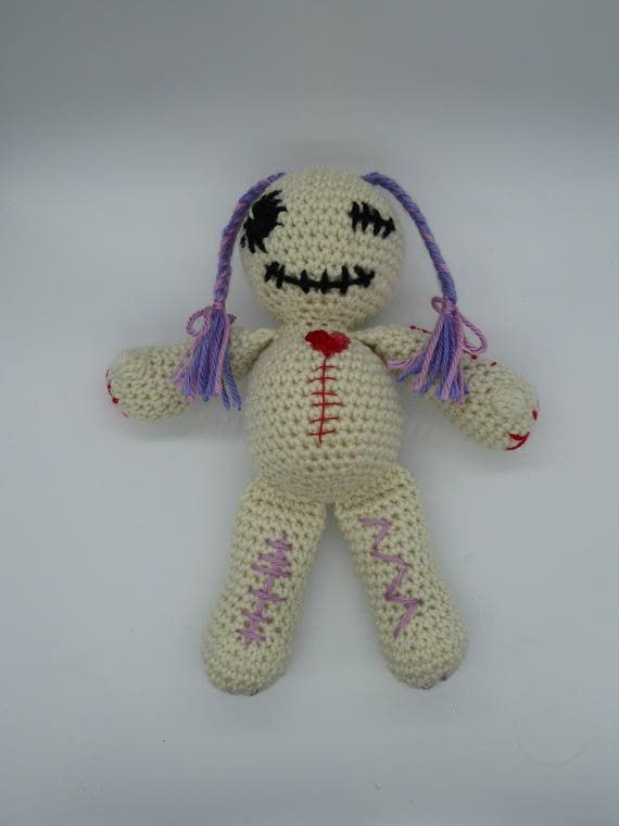 Voodoo Puppe Amigurumi Voodoo Puppe Häkeln Voodoo Puppe Etsy