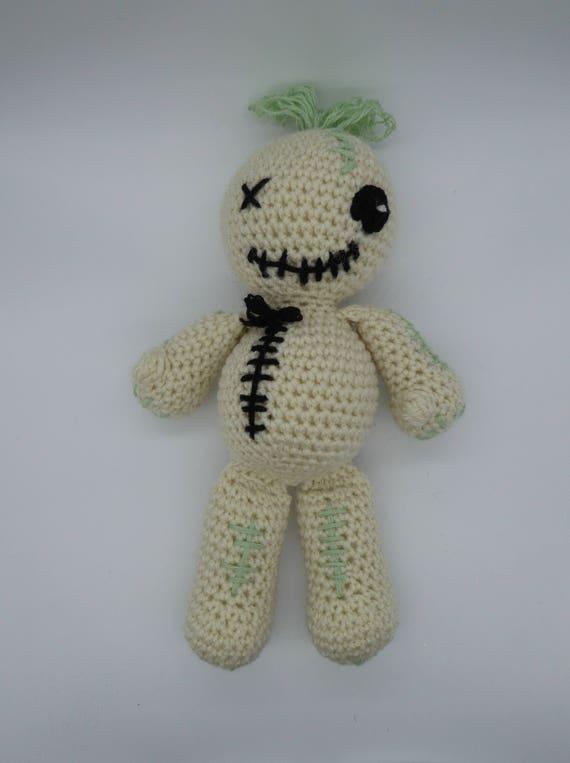 Voodoo Puppe Amigurumi Voodoo Puppe Häkeln Voodoo Puppe Junge Etsy