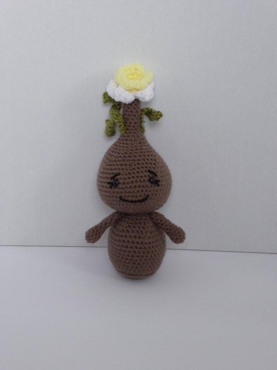 Frühling Blumen Häkeln Narzisse Häkelblume Amigurumi Etsy