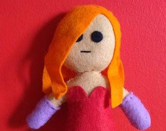 Handmade Jessica Rabbit Plush