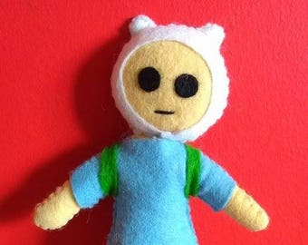 Handmade Adventure Time Finn Plush