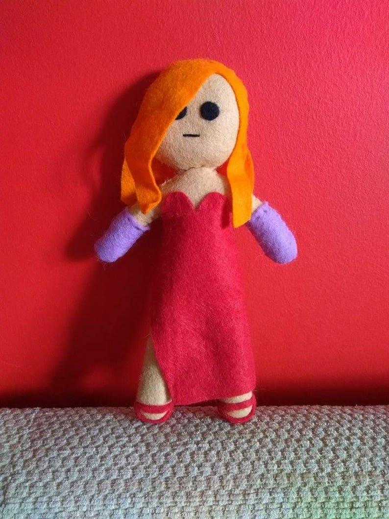 Handmade Jessica Rabbit Plush Etsy