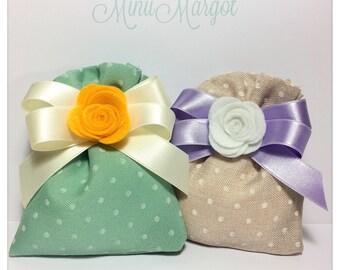 """• Cardboard boxes """"Bag wedding favor"""
