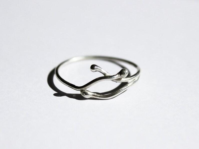 f974f51b7185 Anillo finito de plata mini anillo de plata anillo minimal