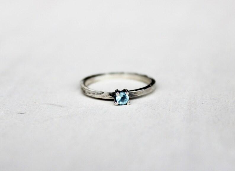 452d0d4ed7d5 Anillo de plata con apatito anillo minimal anillo de plata