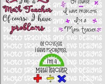 I'm a math teacher of course I have problems SVG