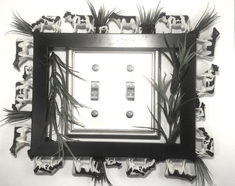 Free shipping,Wall plate frames,wall plate enhancement,kitchen art, wall art, switch plate covers,
