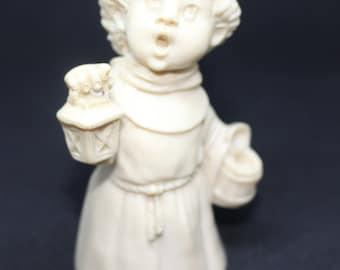 Vintage A. Santini Friar Boy Sculpture