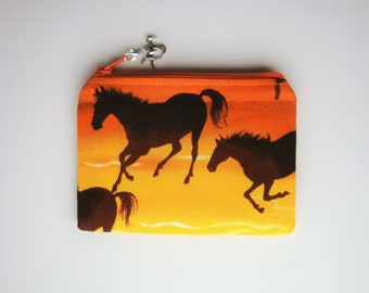 Horse Racing Real Leather Passport Holder Horse Riding Gift 187