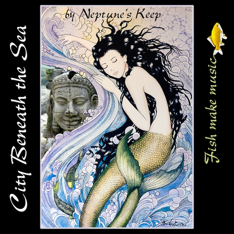 Music CD  City Beneath the Sea by Neptune's Keep image 0