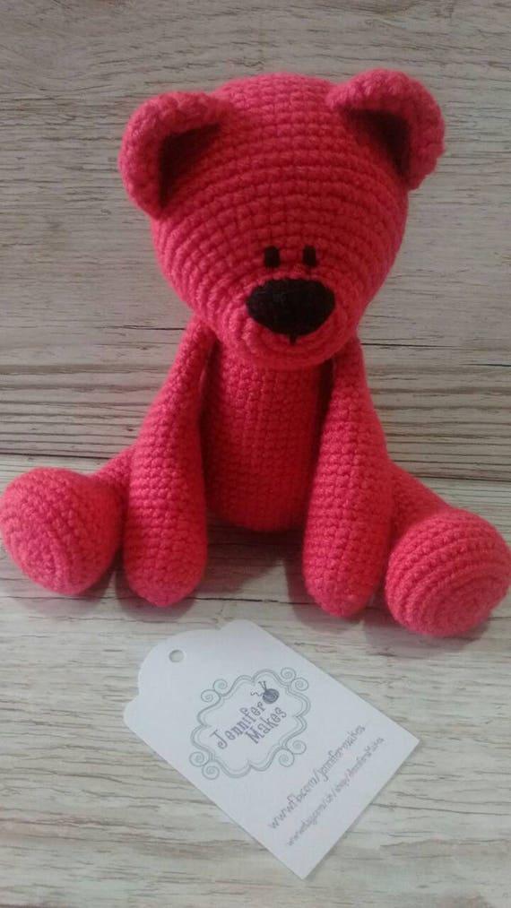 Cute teddy bear with felted pumpkin-Crochet Teddy bear-Amigurumi ... | 1013x570