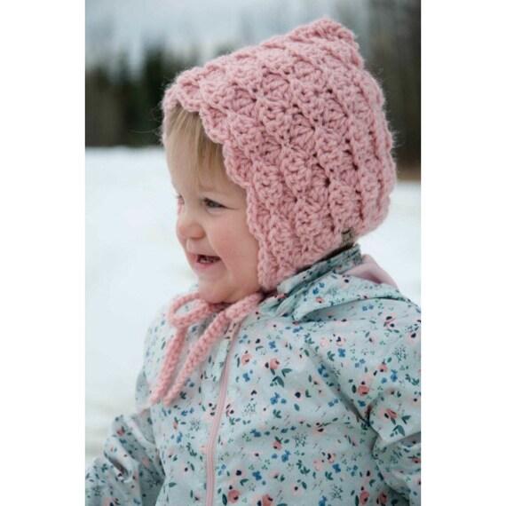 f1aab6c31 Baby Bonnet Crochet Baby Bonnet Crochet Pixie Bonnet