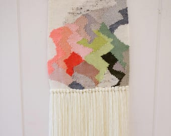 Arabella Weaving, woven wall hanging, boho wall tapestry, wall art