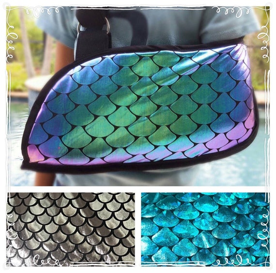 Mermaid Scales Arm Sling - Child arm sling - Adult arm sling - arm slings for girls - youth arm sling