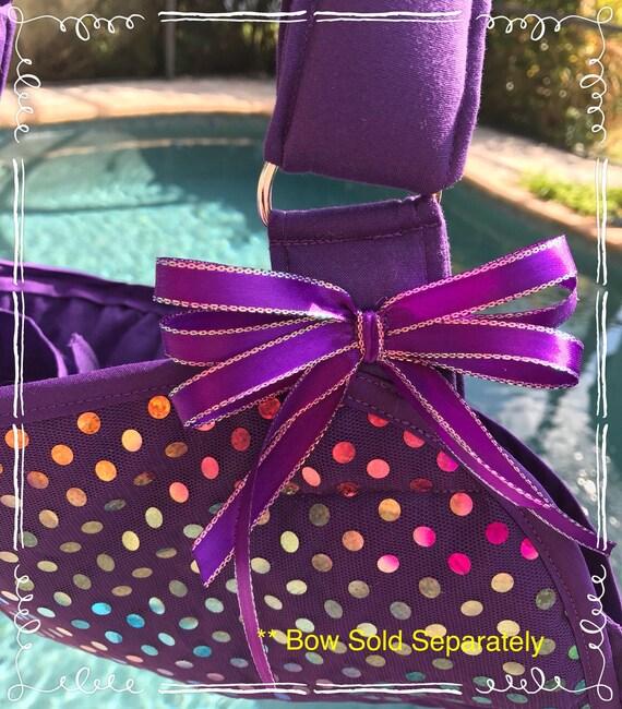 Purple Sparkly Faux Sequins Arm Sling - Child arm sling - Adult arm sling - youth arm sling - girl arm sling