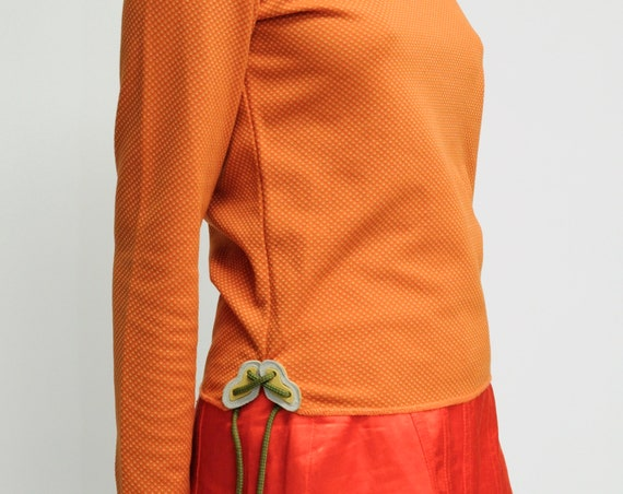 MIU MIU Orange athletic long sleeve