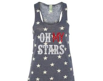 Oh My Stars Glitter Tank