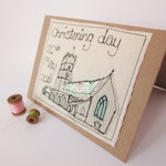 Personalised Baptism or Christening day card