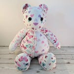 Keepsake memory bear, Memory Collect-a-bear by Claire Bears, handmade from your loved items of clothing or fabric