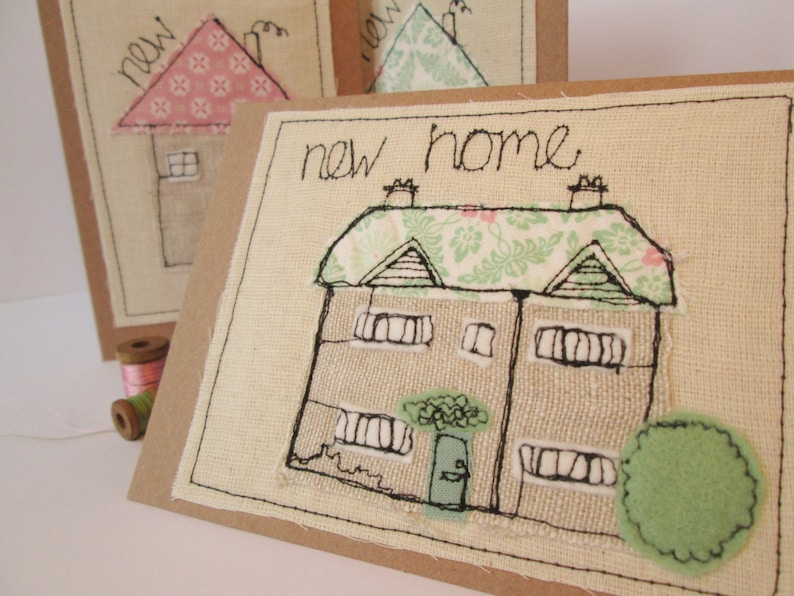 Personalised New Home card  housewarming card  personalised image 0