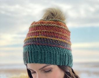 The Strata Beanie PDF DIGITAL DOWNLOAD Crochet Pattern, Women's Crochet Winter Beanie Pattern, Cute Crochet Beanie Pattern, Evelynandpeter