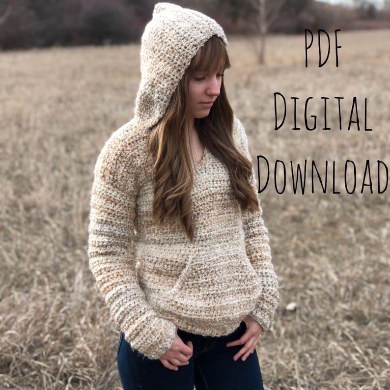 The Butterbeer Pullover Pdf Digital Download Crochet Pattern Etsy