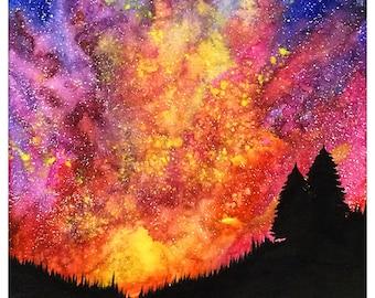 Magical Sky Print