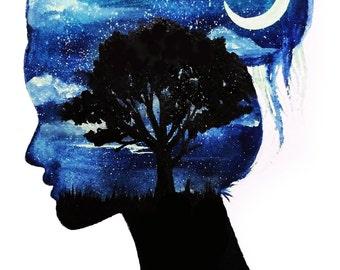 Believe In Your Dreams Print