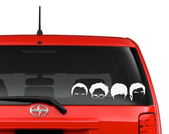 Big Bang Theory Character Decal