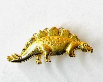 Stegosaurus  Pin   Small Metal Dinosaur Tack