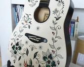 Batik Guitar by Peter Donnelly