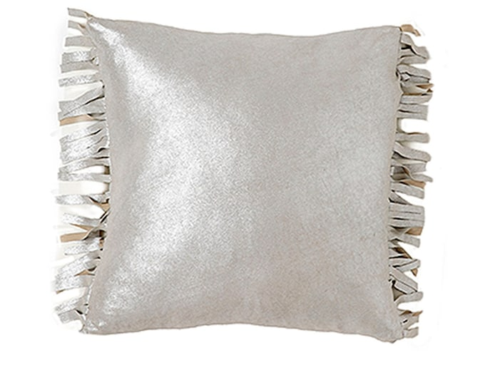 Rustic Fringe - Silver Metallic Leather [Insert Included]