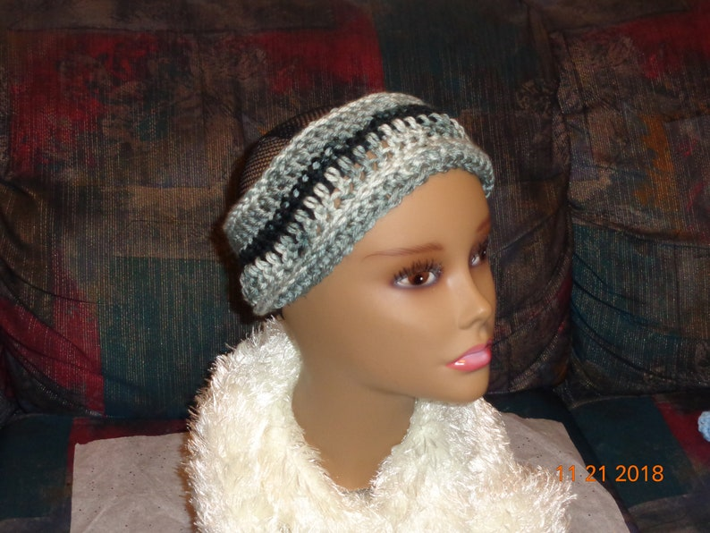 Junior Fall and Winter Crochet Headband For Adult Toddler and Babies