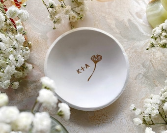 Engagement Gift / Ring Dish / Jewelry Dish / Celestial / Bohemian Wedding / Wedding Gift / Personalized Gift / Gift for Her / Anniversary