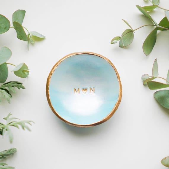 Personalized Jewelry Dish Ring Dish Custom Wedding Gift Etsy