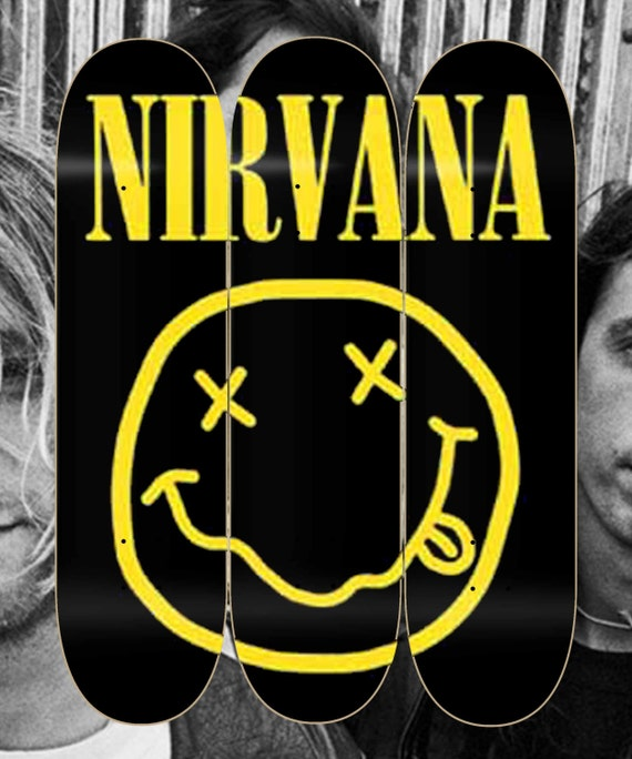 Nirvana 3 deck skate Collage