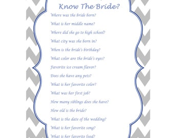 how well do you know the bride wedding quiz wedding trivia questions wedding shower games couples shower games bridal shower 381
