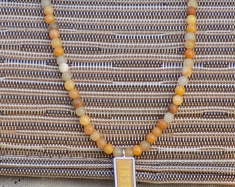 Inspired Natural Stone Necklace
