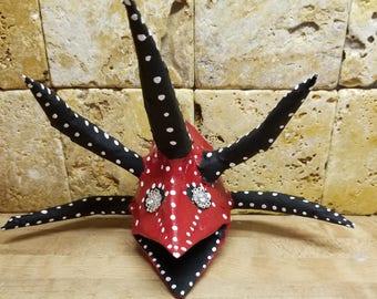Traditional vegigante mask from Puerto Rico