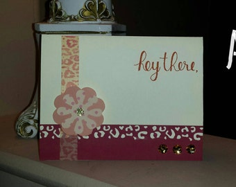 Animal Print Note Cards